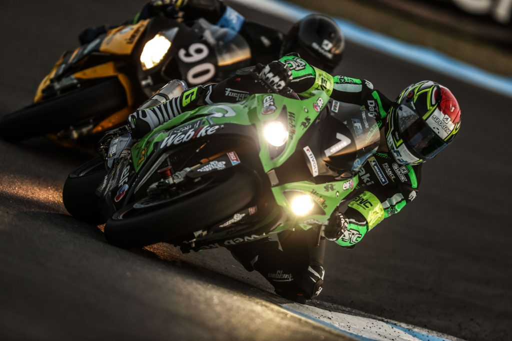6th position for the Webike SRC Kawasaki France Trickstar and a 5th final place for Gilles STAFLER and his team.