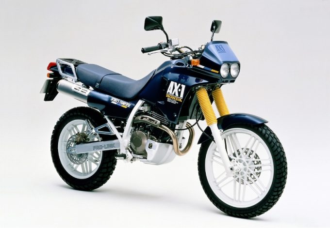 HONDA AX-1, The Strongest Machine for City Riding Ideal for Courier