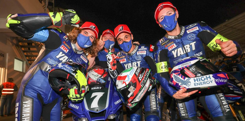 YART YAMAHA TRIUMPH AT ESTORIL, SUZUKI ENDURANCE RACING TEAM SCOOP 16TH WORLD TITLE