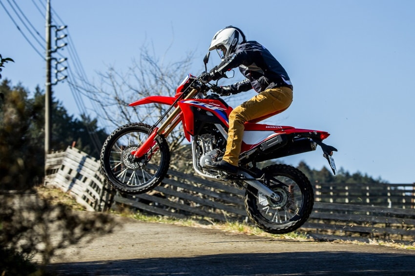 New CRF250L & RALLY Test Ride Review: The Real Off-road Performance Where You Can Fly the Moment You Get On!